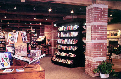 Inside the Erie Bookstore