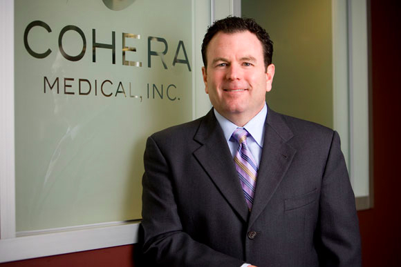 Patrick Daly is CEO of Cohera