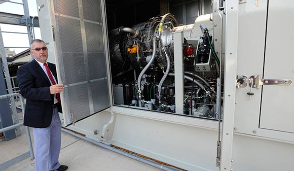 Neuer checks out their new Combustion Turbine