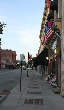Main Street in Greenville Borough