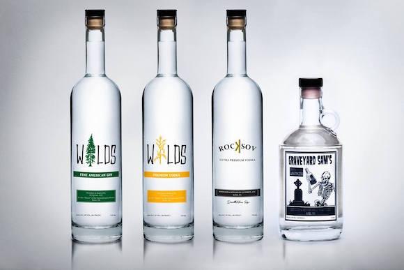 Award-winning products from CJ Spirits