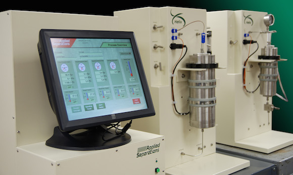 Equipment at Applied Separations