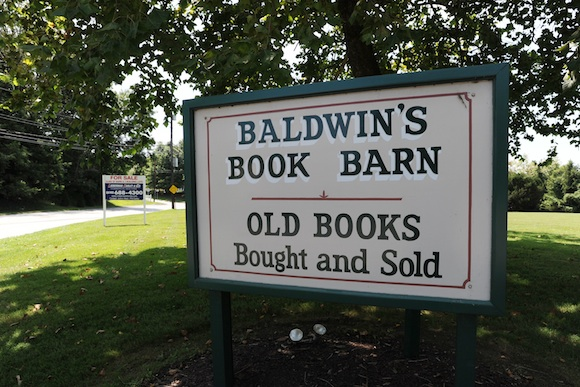 Baldwin's Book Barn near West Chester