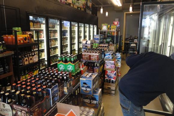 Buying beer in the Lehigh Valley