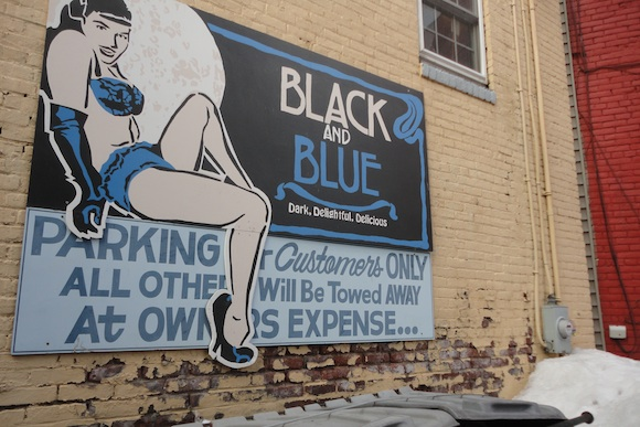 Black and Blue in Easton