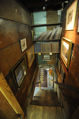 The many nooks and crannies at Baldwin's Book Barn