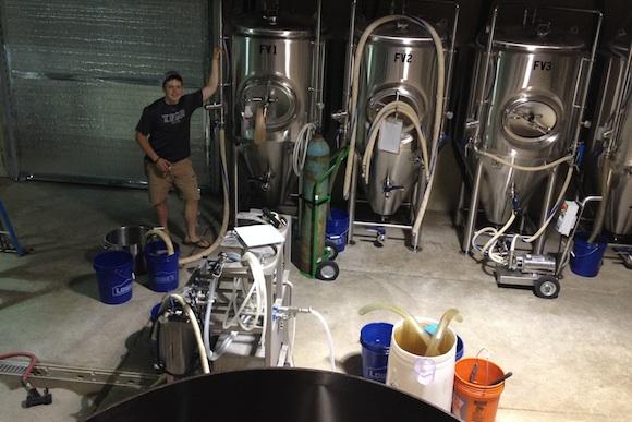 Brandon Capps at Brew Gentlemen Beer Company