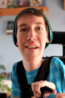Born with Spinal Muscular Atrophy, 22-year-old Shane Burcaw created Laughing at My Nightmare