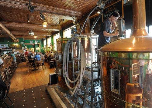 Bullfrog Brewery in Williamsport