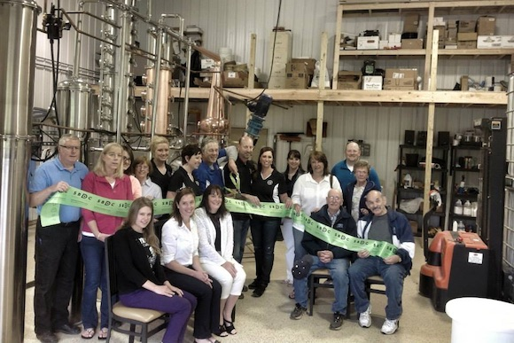 CJ Spirits' grand opening party