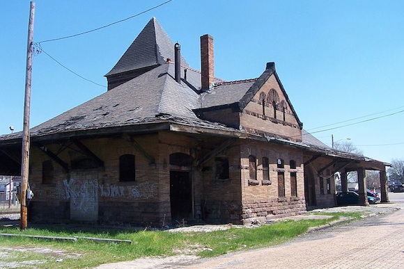 Coraopolis Railroad Station in Allegheny County