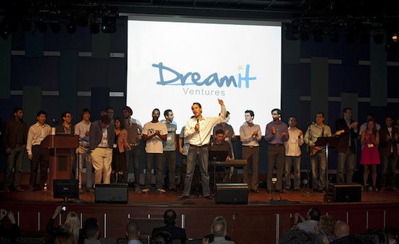 Steve Welch closing DreamIT's Demo Day