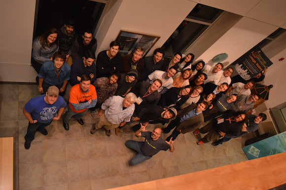 Some of the Lehigh Valley Startup Weekend participants after the event