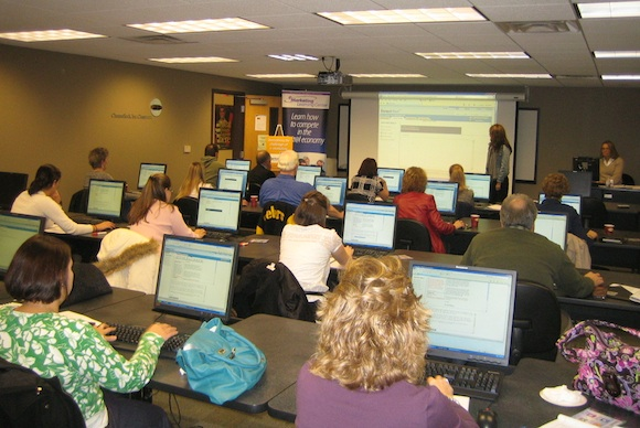 Training at the eMarketing Learning Center
