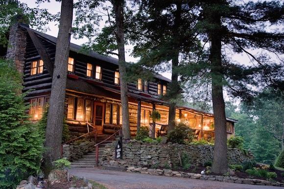 The beautiful renovated Gateway Lodge