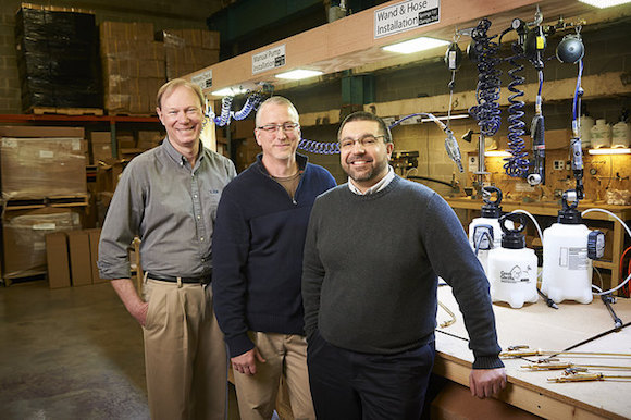 The founders of ForeFront Product Design
