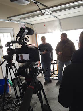 Homebrewers Derek Markel and Tim Myers will be featured in the documentary Brewed in the Burg