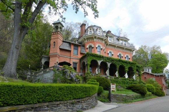 The Henry Packer Mansion, Jim Thorpe, Poconos