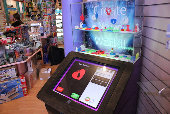 PieceMaker Technologies' in-store kiosk