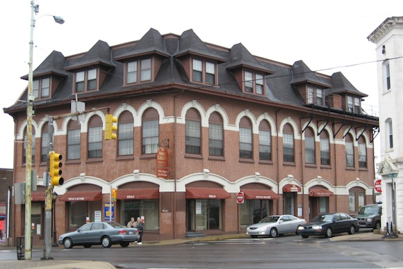 A historic building in Jenkintown