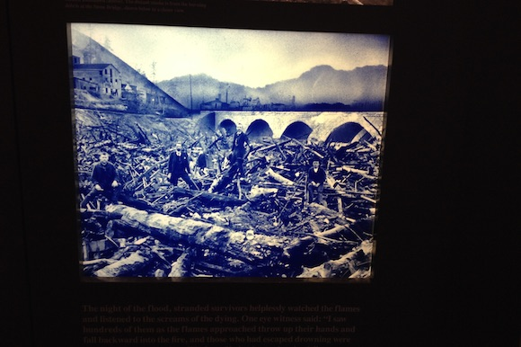 An image of the Johnstown Flood