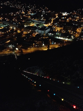 The view from the Johnstown Inclined Plane