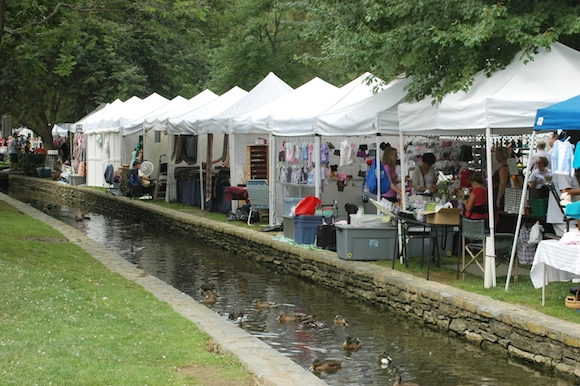 Crafts in the Park in Lititz