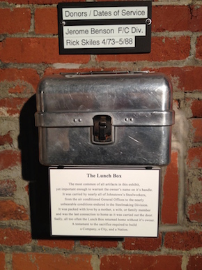 A lunch box at the Heritage Discovery Center
