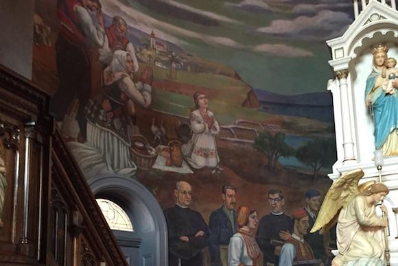 Maxo Vanka's murals at St. Nicholas