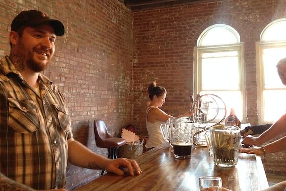 Jaime Rice at Milkman Brewing