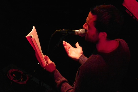 Nic Esposito reads from his new book