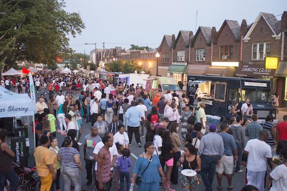 Night Market in West Oak Lane