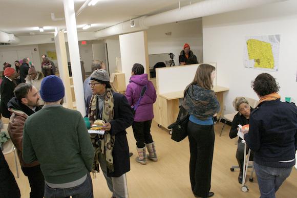 A Neighborhood Time Exchange event on January 9