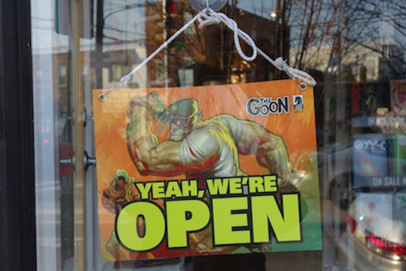 Philly's comic shops are open for business