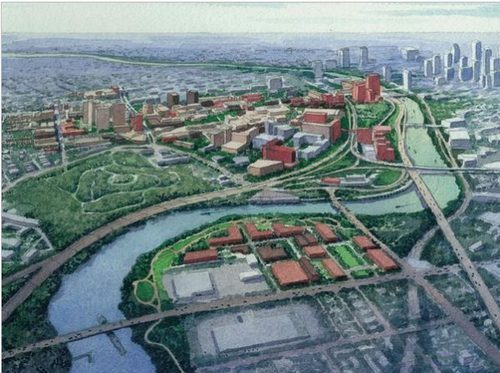 Penn has grand plans for the Lower Schuylkill