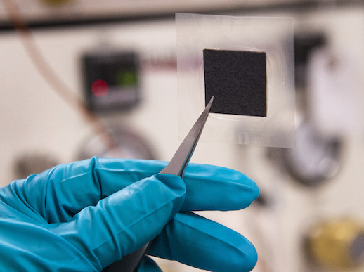 An example membrane, a cost-efficient and durable alternative for fuel cells