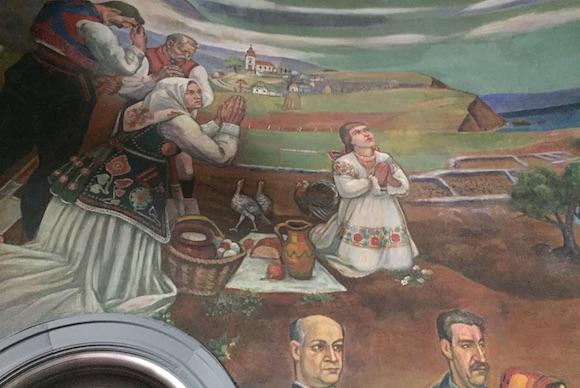Maxo Vanka's murals at St. Nicholas Parish