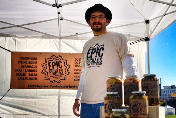 Rob Seufert of EPIC Pickles