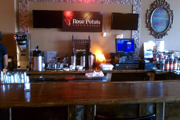 Rose Petals Cafe, after