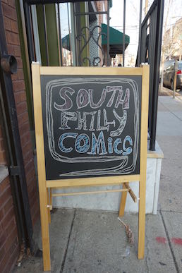 South Philly Comics on East Passyunk Avenue