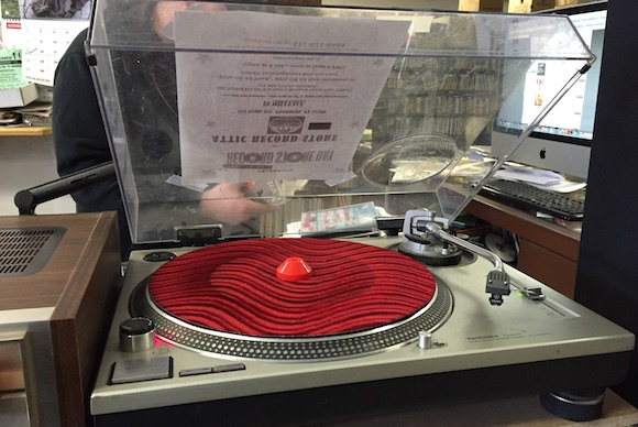 Take a spin at the Attic Record Store