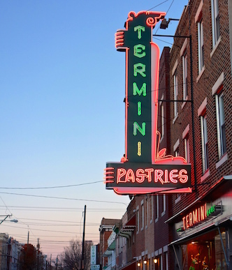 Termini Brothers Bakery, a South Philly institution -- get the cannolis