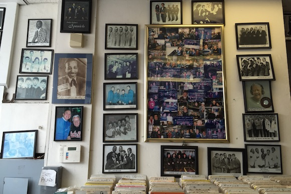 Inside Attic Record Store