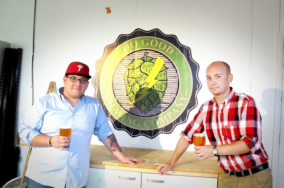 Thomas Sheridan and Benjamin Bedard of Do Good Brewing