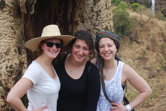 The Zitelman sisters in Ethiopia