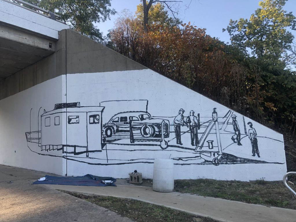 Fredericktown mural