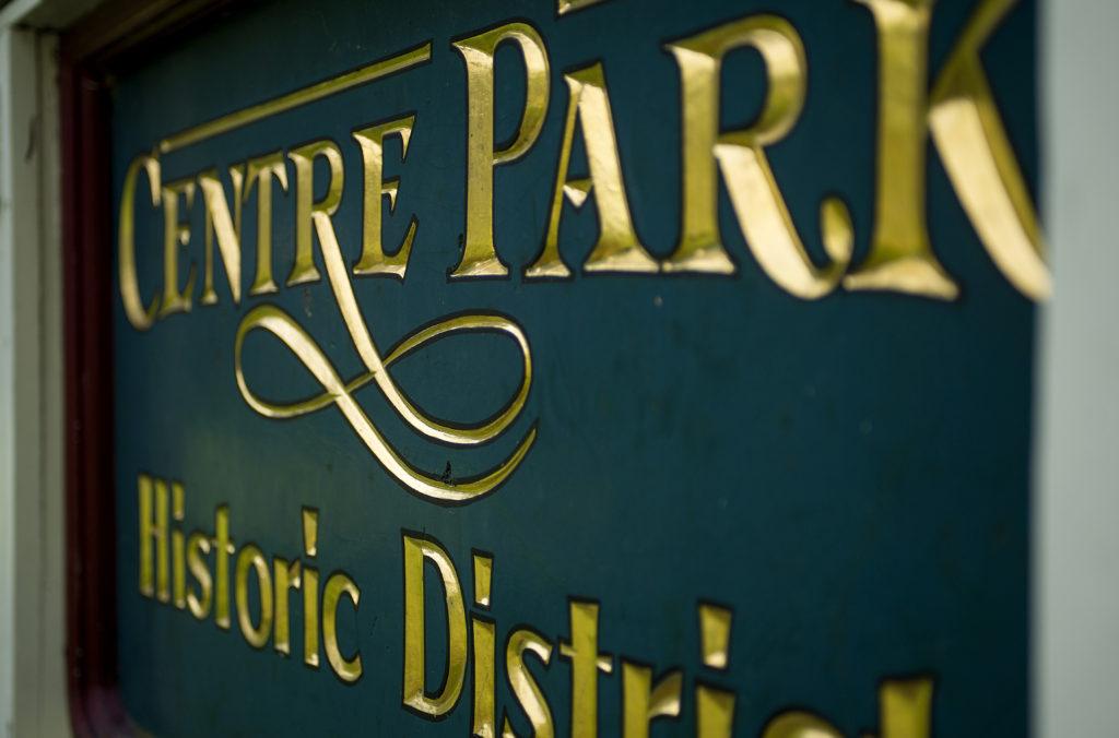Centre Park Historic District reading