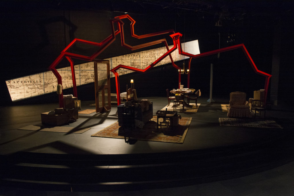 A theater production at Albright College