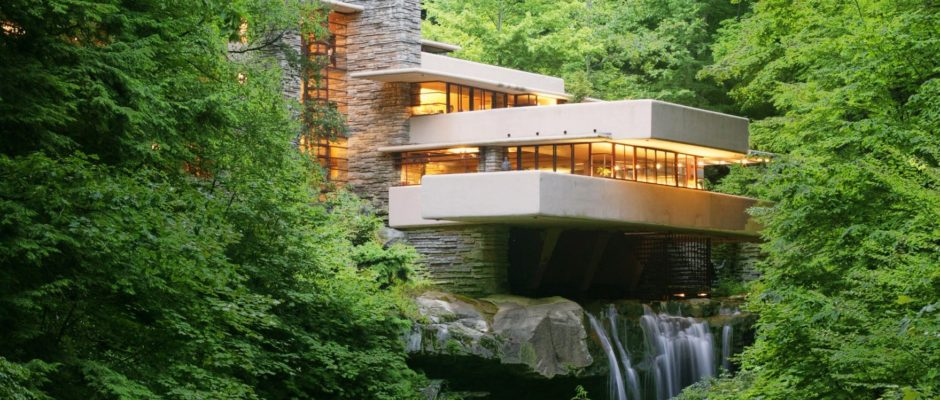 on the way to frank lloyd wright s fallingwater keystone edge. Black Bedroom Furniture Sets. Home Design Ideas