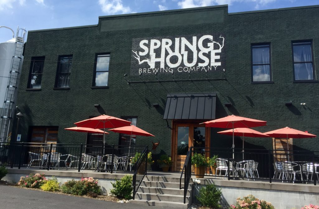 Spring House Brewing Company in Lancaster City